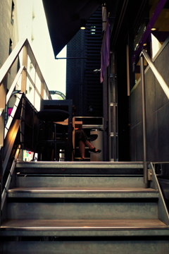 階段を登れば美と出会える