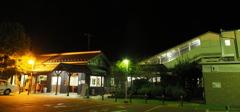 しなの鉄道の夜 (72)坂城駅