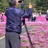 2019富士芝桜まつりにて 撮る人を撮る (2)