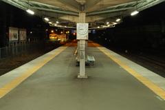 しなの鉄道の夜 (75)坂城駅
