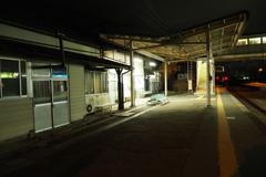 しなの鉄道の夜 (63)西上田駅