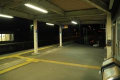 しなの鉄道の夜 (66)テクノさかき駅