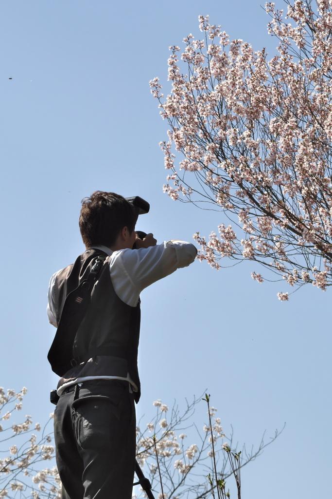 2019春の懐古園で撮る人を撮る (1)