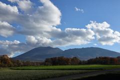 嬬恋村からの浅間山