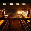 しなの鉄道の夜 (42)大屋駅