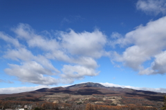 嬬恋村から四阿山