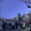松本城2019春  (2)定番ポイントから撮る人を撮る
