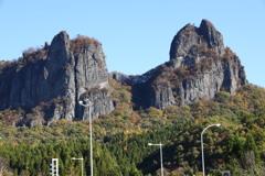 群馬県 高岩山 雄岩と雌岩