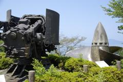 陸奥の副砲とスクリュー