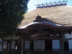 萱葺の本堂
