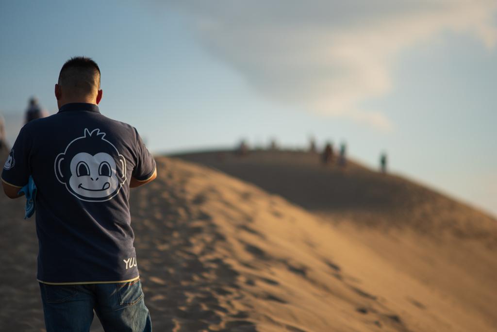 砂丘にて #3