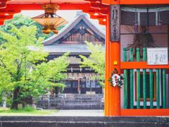 新日吉神宮(いまひえじんぐう) 楼門