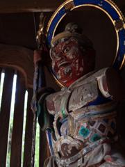 清凉寺の一切経蔵 #2