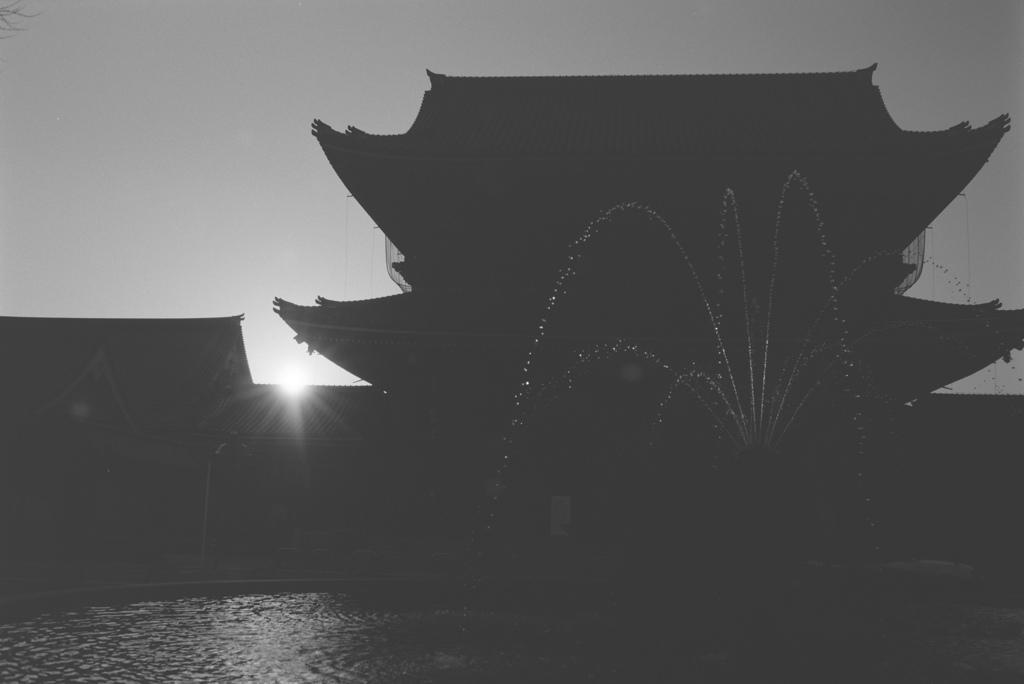 東本願寺の噴水