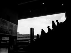 京都駅にて #21