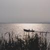 朝のボート