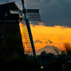 富士山と風車