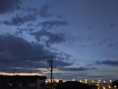 2017/04/29_夕空