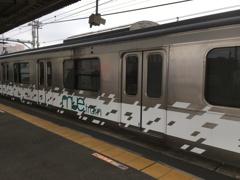 2019/12/11_蓮田駅に停車中のミュー・トレイン