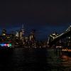 2019/06/16_夜のマンハッタンとブルックリン橋