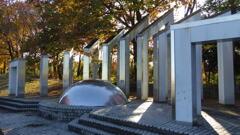 2013/11/30_銀河の丘公園のオブジェ