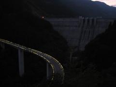 2012/10/20_ループ橋と滝沢ダム(没カット)