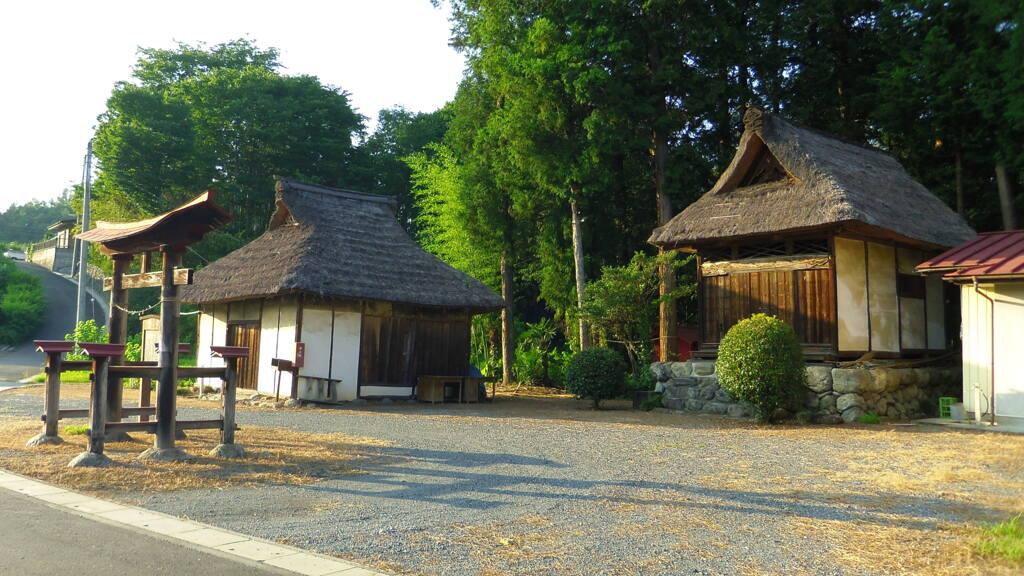 2013/08/03_萩平精進堂と諏訪神社