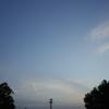 2015/04/18_夕空に飛行機雲
