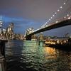 2019/06/15_夜のマンハッタンとブルックリン橋