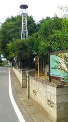 2013/07/20_お堂と火の見櫓