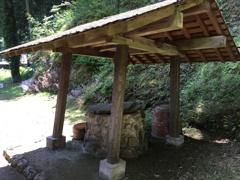 2020/06/08_道の駅 和紙の里ひがしちちぶの紙すき家屋裏の井戸