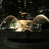 2019/06/15_夜の市庁舎公園の噴水
