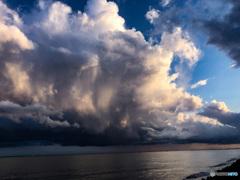浦安363日前 雨上がり虹が出た日の虹の前の空 その2