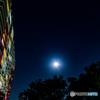 浦安星景 明る過ぎる月と木星・土星・射手座・アルタイル