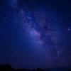 四国カルスト上空の天の川(星雲)①