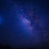四国カルスト上空の天の川(星雲)②