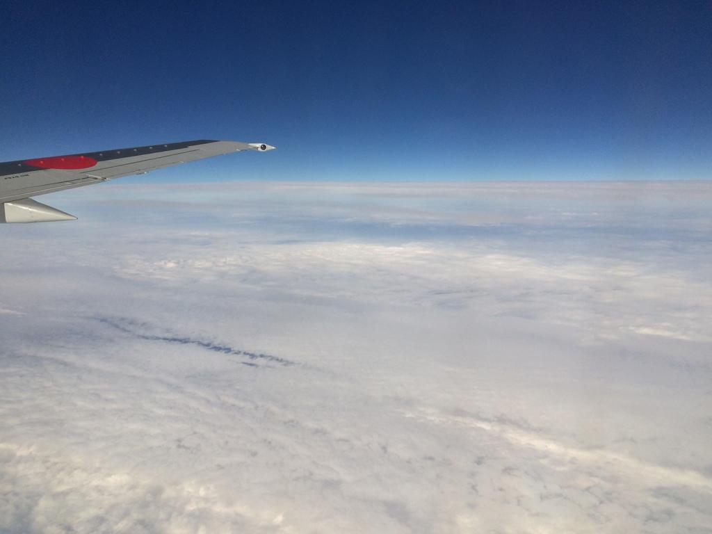 沖縄航路の雲の上にて⑥
