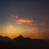UFOラインの夕陽①