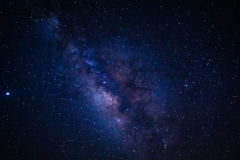 四国カルスト上空の天の川(星雲)④