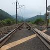 福知山線 下滝駅付近
