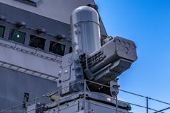 DDH-184 護衛艦 かが SeaRAM 近接防衛システム 艦首側 _3