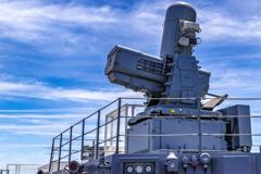 DDH-184 護衛艦 かが SeaRAM 近接防衛システム 艦首側 _1
