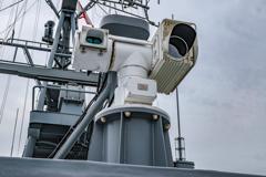 えのしま型掃海艇 3番艇 MSC-606 はつしま 射撃管制カメラ