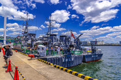 MSC-604 えのしま型掃海艇1番艇 えのしま