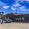 おおすみ型輸送艦 3番艦 LST-4003 くにさき 側方