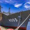 おおすみ型輸送艦 3番艦 LST-4003 くにさき 前方