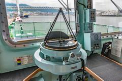えのしま型掃海艇 3番艇 MSC-606 はつしま ブリッジ 方位盤