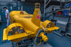 MSC-606 掃海艇はつしま S-10 水中航走式機雷掃討具