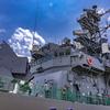 あさぎり型護衛艦 8番艦 DD-158 うみぎり 左舷側艦橋構造物・マスト
