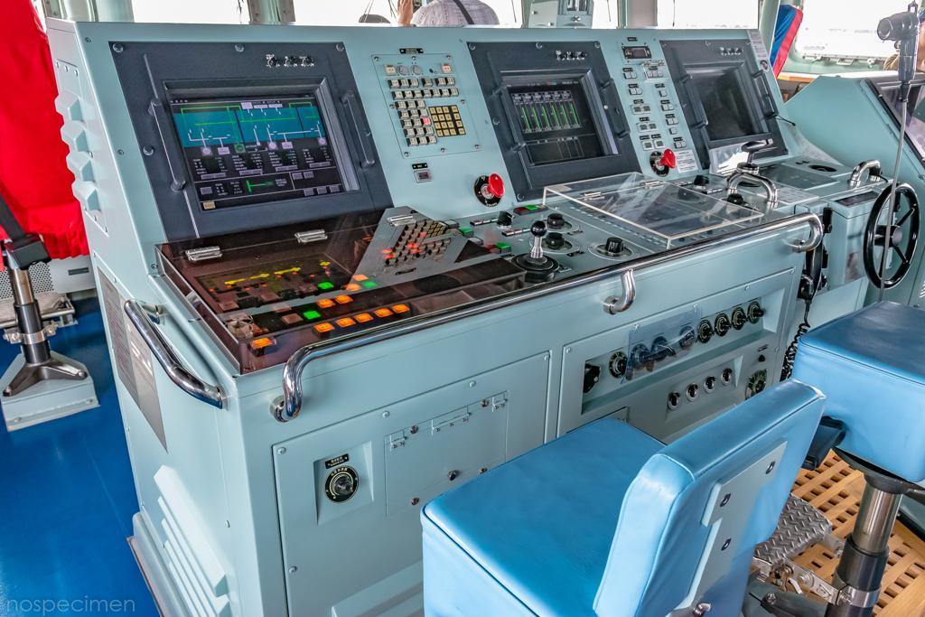 えのしま型掃海艇 3番艇 MSC-606 はつしま ブリッジ
